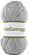 Järbo Garn Mellanraggi Light Gray 28211, 100g