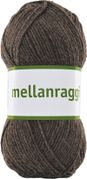 Järbo Garn Mellanraggi Brown Melange 28223, 100g