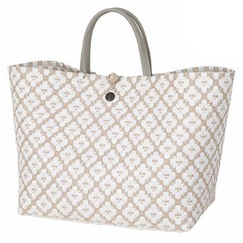 Handed By Veske Motif Shopper PaleGrey