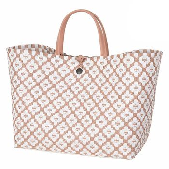 Handed By Veske Motif Shopper CopperBlush