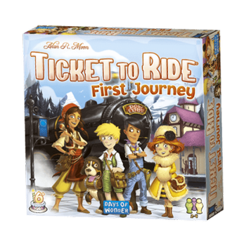 Asmodee BrettspillTicket-To-Ride, FirstJourney (617-DOW720927)