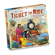 Asmodee KartutvidelseTicket-To-RideCollection-2India-Sveits