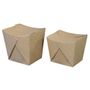 ABENA Take away boks, 7x8,5x10,5cm, 700 ml, 250 g/m2, brun, kraft, stor