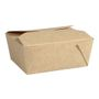 ABENA Take away boks, Abena, 11x9x5cm, 500 ml, 250 g/m2, brun, kraft