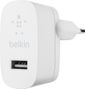 BELKIN Single USB-A Wall Charger 12W w/1M PVC