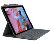 LOGITECH Slim Folio for iPad (7th generation),  Graphite (Nordic) (920-009479)