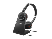 JABRA Evolve 75 with Chargingstand and Link 370 Stereo MS (7599-832-199)