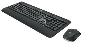 LOGITECH MK540 Wireless Desktop Set, Black (Nordic) (920-008683)