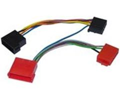 AIV ISO-adapter,  AR-LS-Adapterkabel Audi A 4 10pin iso-> 21pin mini iso (2000624)