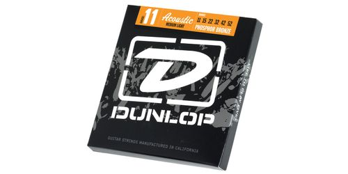 Dunlop 011-52 - Stålstrenger Medium (DAP1152)