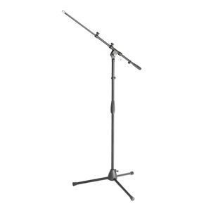 Adam Hall Microphone stand with boom arm (S6B)