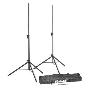 Adam Hall SPS 023 SET - Speaker Stand Set 2 Speaker Stands with Bag (SPS023SET)