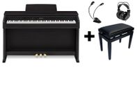 CASIO Casio AP-460BK Digitalpiano TOTALPAKKE