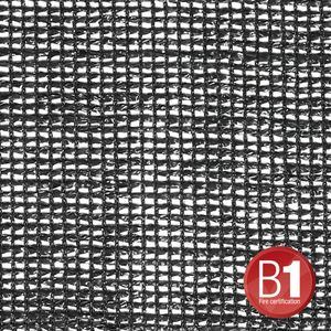 Adam Hall Accessories Gauze, material 203 sold by the meter, 2m wide, black (015850 B)