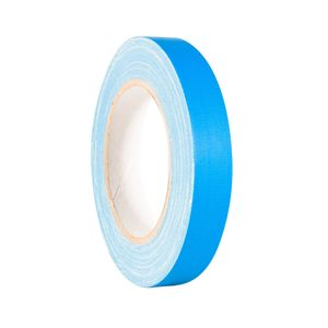 Adam Hall Accessories Gaffer Tapes light Blue 19mm x 25m (58064 LTBLU)