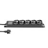 Adam Hall Accessories 5-Outlet Power Strip with IP44 Rating (8747 IP 5)