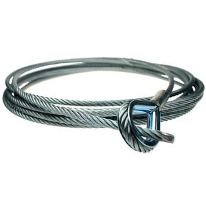Adam Hall Accessories Safety Rope 8 mm length 5 m for S80VS Wire Clip for Ropes 6 - 8 mm (S 80500)
