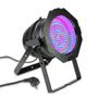 Cameo 177 x 10 mm LED RGBA PAR light in black housing