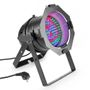 Cameo 108 x 10 mm LED RGB PAR light in black housing
