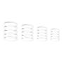 Gravity Universal Gravity Ring Pack, Ghost White