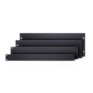 "Adam Hall 19"" Parts 19"" U-shaped Rack Panel 1 U steel (87221 STL)"