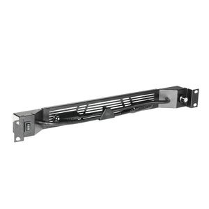 "Adam Hall 19"" Parts Cold-white blue COB LED rack light with two goosenecks (87463)"