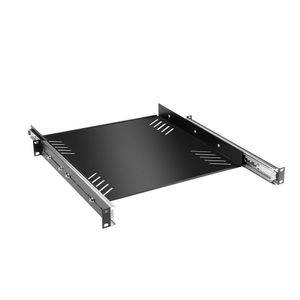 "Adam Hall 19"" Parts 19"" Rack Cradle 1 U with Drawer Slides (87556)"