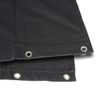Adam Hall Accessories Blackout cloth B1 black with burnished Grommets hemmed 4 x 3 m (0152 X 43)