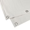 Adam Hall Accessories Acoustic-cloth B1 with burnished Grommets hemmed 3 x 3m creme (0160 X 33 WH)