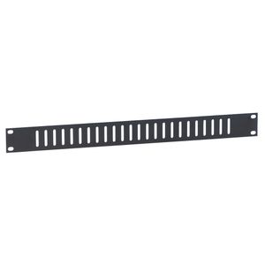 "Adam Hall 19"" Parts 19"" Flat Ventilation Panel 1U with vertical Slots (8721 V)"