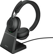 JABRA Evolve2 65 - USB-A UC Stereo with Charging Stand - Black