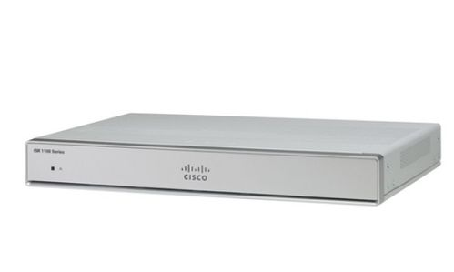 CISCO ISR 1101 4 PORTS GE ETHERNET WAN ROUTER                       IN CTLR (C1101-4P)