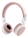 STREETZ foldable Bluetooth-headset,  microphone,  Bluetooth 4.1, pink