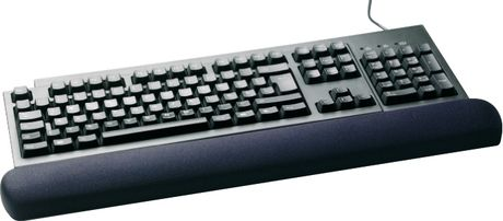 3M GEL-FILLED ECONO WRIST REST BLK NON-ADJ (WR310MB)