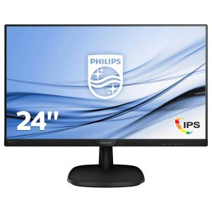 PHILIPS Monitor Philips 243V7QDSB/ 00 24'', panel-IPS; HDMI, DVI, D-Sub (243V7QDSB/00)