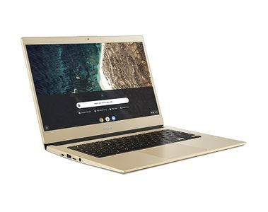 "ACER Chromebook 514 CB514-1H-C88A 14"" HD (Luxury Gold) Celeron N3350, 4 GB RAM, 32 GB SSD, Google Chrome OS (NX.HFKED.008)"