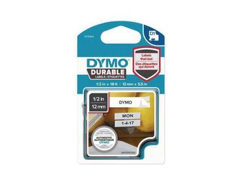 DYMO D1 Durable 12 mm x 5,5 M, Black on White (1978364)