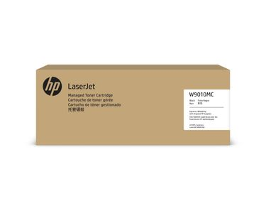 HP W9010MC Black Managed Original LaserJet Toner Cartridge (W9010MC)