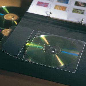 3L CD-R-ficka 3L självhäftande 10/FP (6832-10)
