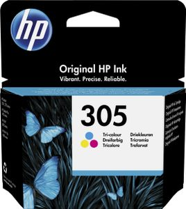 HP 305 Tri-color Original Ink Cartridge (3YM60AE#ABE)