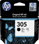 HP 305 BLACK ORG. INK CARTR BLISTER ORIGINAL INK CARTRIDGE SUPL (3YM61AE#301)