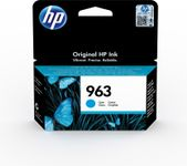 HP 963 Cyan Original Ink Cartridge (3JA23AE)