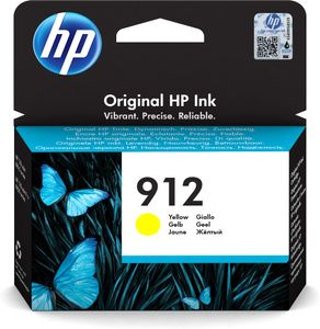 HP 912 Yellow Original Ink Cr (3YL79AE#BGY)