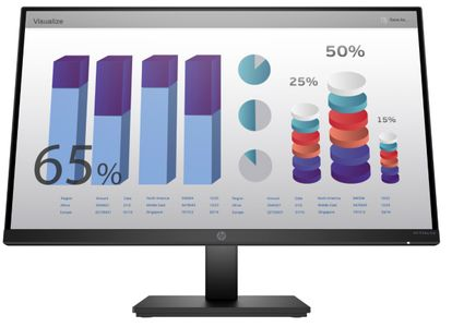 HP P24q G4 23.8inch QHD 2560x1400 16:9 5ms 1xHDMI 1xVGA Height Adjust Monitor (8MB10AA#ABB)