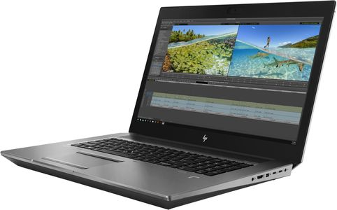 "HP ZBook 17 G6 Mobile Workstation - Core i7 9750H / 2.6 GHz - Win 10 Pro 64-bitars - 16 GB RAM - 256 GB SSD (16 GB SSD-cache) NVMe, TLC - 17.3"" 1920 x 1080 (Full HD) - Quadro T1000 / UHD Graphics 630 - B (6TU96EA#AK8)"