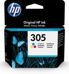 HP 305 TRI-COLOR ORG. INK CARTR BLISTER ORIGINAL INK CARTRIDGE SUPL (3YM60AE#301)