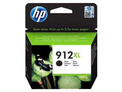 HP 912XL High Yield Black Ink (3YL84AE#BGX)