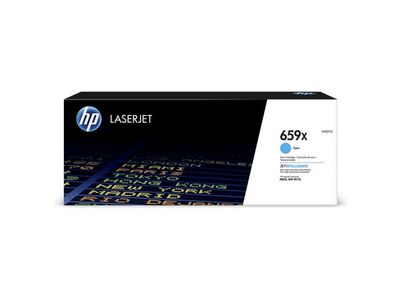 HP 659X High Yield Cyan Original LaserJet Toner Cartridge (W2011X)
