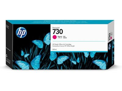 HP 730 300-ML MAGENTA INK CARTRIDGE (P2V69A)