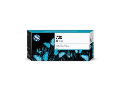HP 730 300-ML GRAY INK CARTRIDGE (P2V72A)